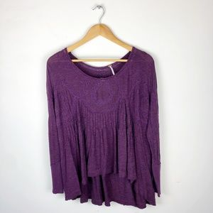 Free People Keyhole Tunic Top